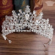 Unique Crystal Comfort Wedding Tiaras
