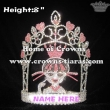 8in Crystal Monster High Girl Pageant Rhinestone Crowns