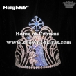 Frozen Olaf And Elsa Crystal Crowns