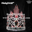 Custom Crystal Santa Helper Christmas Crowns With Red Diamonds