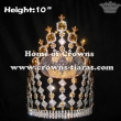 Crystal Batman Pageant Crowns With Gold Diamond