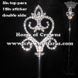Heart Shaped Crystal Pageant Scepters