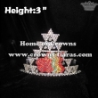 Fruit Apple Crystal Pageant Crowns