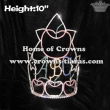 ABC Apple And Star Rhinestone Pageant Crowns