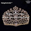 Gorgeous Crystal Pageant Crowns With Combs