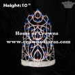 Wholesale 10inch Height Crystal Queen Crowns