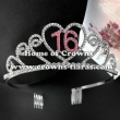 Alloy Crystal Birthday Crowns--Number Can Be Changed