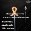 Crystal Pageant Ribbon Scepter