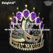 Custom Crystal Mask Mardi Gras Crowns