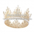 Wholesale Crystal Pearl Full Round Crowns