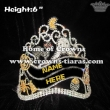 Crystal Spide Pumpkin Halloween Pageant Crowns