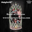 14in Height Custom Fresh Faces Pageant Crowns