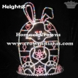 Colorful Rabbit Pageant Crowns