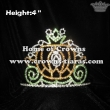 4inch Height Pumpkin Halloween Crowns