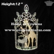 12in Height Wholesale Jungle Animal Pageant Crowns
