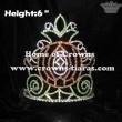 6inch Crystal Halloween Pumpkin Carriage Crowns