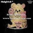 6inch Height Teddy Bear Cupcake Crowns