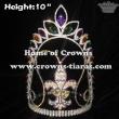 10in Crystal Fleur De Lis Pageant Crowns Mardi Gras Crowns