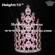 10inch Pink Diamond Pageant Crowns