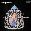 Frozen Anna Olaf Pageant Crystal Crowns