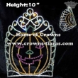 10inch Height Wholesale Crystal Pumpkin Crowns