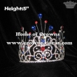 5in Height Tall Big Crystal Pageant Crowns